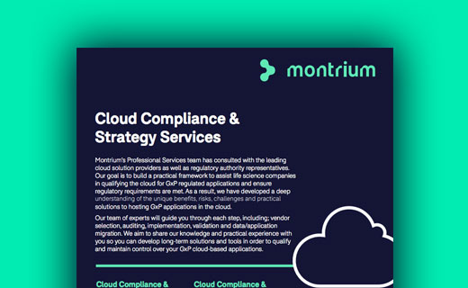 Information Sheet for Cloud-Compliance & Strategy Services