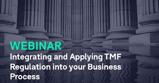 Integrating and Applying TMF Regulation into your Business Process